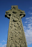 Celtic cross Iona Royalty Free Stock Image