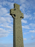 Celtic Cross, Iona. Abbey, Scotland Royalty Free Stock Photo