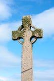 Celtic cross, Iona island, Scotland Royalty Free Stock Photo