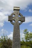 Celtic cross in Ireland Stock Photos