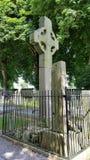 Celtic cross. Large celtic cross in ireland Royalty Free Stock Photo