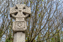 Celtic cross in Marazion cornwall england uk Stock Image