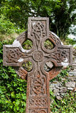 Celtic Cross Muckross Abbey Killarney. National Park Stock Photo