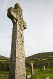 Celtic cross near zennor cornwall uk Royalty Free Stock Photo