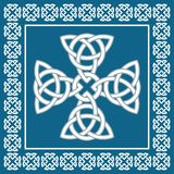 Celtic cross ornament,symbolizes eternity,vector illustration Stock Photos