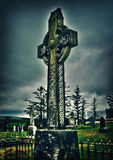 Celtic Cross in Storm Royalty Free Stock Photo