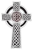 Celtic cross symbol - tattoo or artwork Royalty Free Stock Photos