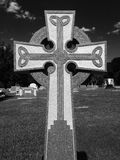 Celtic Cross. This Celtic Cross is in Terrell Texas Royalty Free Stock Image