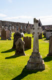 Celtic cross tombstone Stock Photos