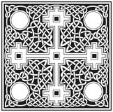 Celtic cross traditional  design Stock Photos