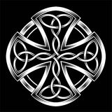 Celtic cross. Vector illustration of Celtic cross on a dark background vector illustration