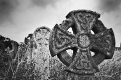 Celtic Crosses Royalty Free Stock Photo