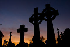 Celtic crosses Stock Photography