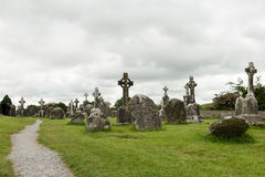 Celtic crosses Stock Photos