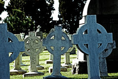 Celtic Crosses Royalty Free Stock Images
