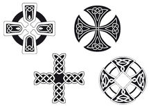 Celtic crosses Stock Image