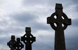 Celtic crosses Royalty Free Stock Photos