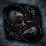 Celtic Crow Circle Stock Photos