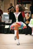 celtic dansare Arkivfoto