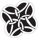 celtic design Arkivbild