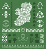 Celtic Design Elements Royalty Free Stock Image