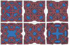 Celtic design elements set Stock Photo