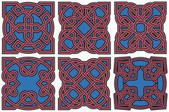 Celtic design elements set Stock Photo