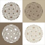 Celtic design illustrations Royalty Free Stock Image
