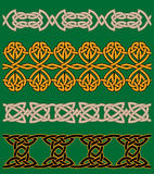 Celtic embellishments and ornaments Stock Images