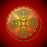 Celtic emblem Stock Photography