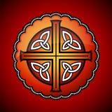 Celtic emblem Royalty Free Stock Photos