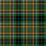 Celtic fc green tartan seamless pattern fabric texture Royalty Free Stock Photos
