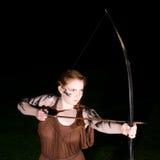 celtic flickakrigare arkivfoton