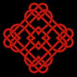 Celtic fnurramotiv Royaltyfri Fotografi