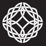 Celtic fnurramotiv Arkivbild