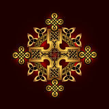 Celtic folk ornament Royalty Free Stock Images