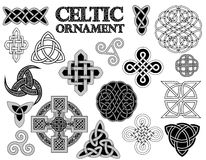 Celtic folk ornament Stock Image