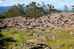 celtic fort Arkivfoton