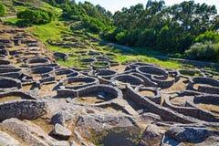 Celtic fort Royaltyfria Bilder