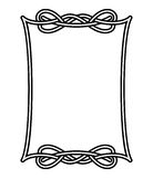 Celtic frame 1 Stock Photography