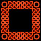 Celtic frame royalty free illustration