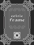 Celtic frame Stock Photo