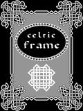 Celtic frame Stock Photography