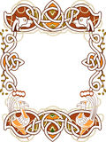 Celtic frame Royalty Free Stock Photos