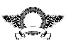 Celtic frame Stock Image