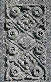 celtic gammal modelltombstone Arkivbild