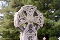 Celtic grave headstone Royalty Free Stock Photos