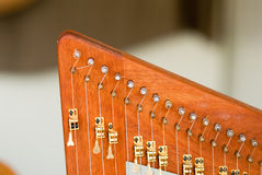 Celtic Harp Royalty Free Stock Image