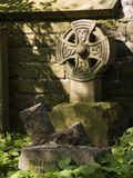Celtic Headstone Stock Images