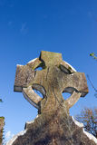 Celtic headstone in Templemichael graveyard Stock Photography